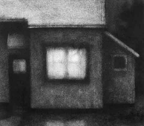 drawing titled House #4